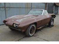 1965 Chevy Corvette Convertible. Same owner for the