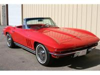1965 Chevrolet Corvette convertible. 327, 300