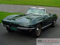 1965 Glen Green Convertible CorvetteBody Style: