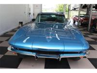 This is the one everyone wants!! 1965 Corvette Coupe,