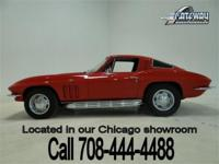 1965 Chevrolet Corvette coupe with the numbers matching