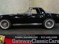 Stock #527-TPA 1965 Chevrolet Corvette  $90,000 Engine: