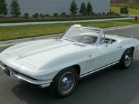 1965 Chevrolet Corvette convertible; Bloomington Gold;