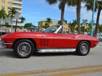 1965 Chevrolet Corvette Convertible Rally. 1965