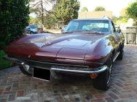 1965 Chevrolet Corvette Coupe. The car is in solid