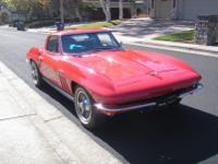 This is a RARE, 1965 Fuel Injected Corvette.  -It is an