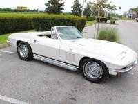 Just arrived 1965 Corvette Stingray Convertible numbers