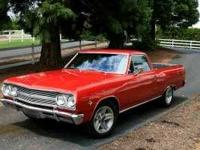 1965 Chevy El Camino. I have owned for 20 years. Came
