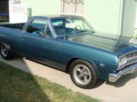 Super Rare 1965 Chevy El Camino only 565 ever built