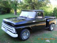 Up for for sale is my 65 chevy truck. It was bought by