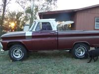 1965 Fleetside Chevy Truck. One owner - my dad and I