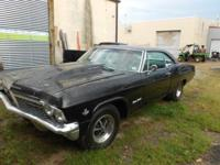 65 impala S/S 2 dr fast back. 90 % recovered I've
