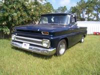 PRICE REDUCED !!!!! This 1965 Truck has a frame up