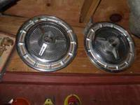 1965 chevy ss hub caps i have all four vary good cond