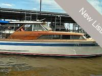 1965 Chris Craft 35 Constellation with ORIGINAL 1965