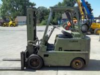 1965 Clark CF60 6,000 lb Forklift 6,000 lbs Capacity 2