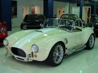 This 2011 1965 COBRA BACKDRAFT RACING . features a RUSH