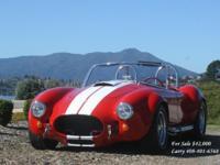 Backdraft Racing Factory hand built Cobra Built in