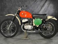 This bike was meticulously restored by the previous