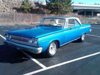 1965 dodge coronet 440 coupe. Has 383 magnum motor has