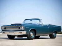 1965 Dodge Coronet Convertible. Call  Located in Broken