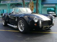 1965 FACTORY FIVE AC COBRA ROADSTER Mk3 Engineering and