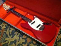 Here is a sweet vintage 1965 Fender Musicmaster II (24
