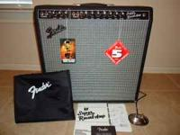 For Sale is a (2008) 1965 Fender Super Reverb Reissue