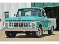 This 1965 Ford F-100 Pickup truck was treated to a