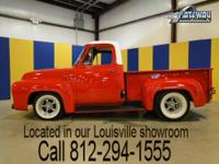 This sweet 1965 Ford F100 has had an extensive