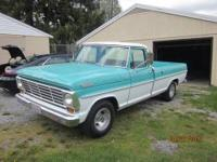 1965 FORD F100 WITH ONLY 2,755 miles. This is a super
