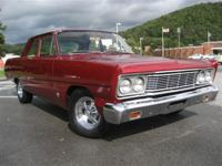 This 1965 Ford Fairlane 2dr 2 door Sedan features a