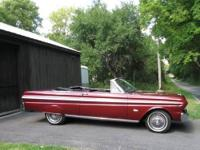 1965 Ford Falcon Convertible ..Very Rare Car ..Original