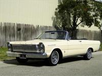 1965 FORD GALAXIE 500 CONVERTIBLE, SPRINGTIME YELLOW,