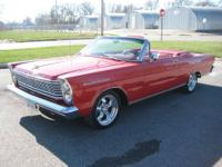 1965 FORD GALAXY 500 CONVERTIBLE RED ON RED ON RED