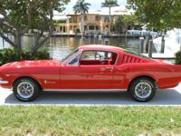 1965 Ford Mustang 2+2 Fastback. This car was restored