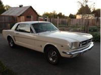 '65 Ford Mustang, Factory 289 V8 c code, AT, that is in