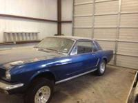 1965 Ford Mustang in Excellent Condition Blue Exterior,
