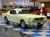 1965 Ford Mustang Fastback 2+2. Powered by the