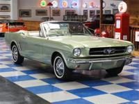 1965 Ford Mustang Convertible painted in Honey Gold (C