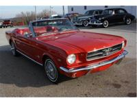 This is a very early built 1965 Mustang that was