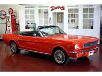 HERE IS A GREAT CAR IN AN EYE CATCHI 1965 Ford Mustang