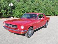Just restored and in is this boatful 1965 Ford Mustang