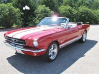 Just in is this stunning 1964 1/2 mustang convertible
