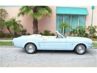 Just arrived For sale 1965 MUSTANG CONV. POWER BLUE /
