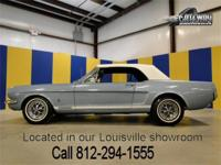 1965 Ford Mustang GT Convertible that is a K code! The