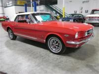 We are pleases to present this rare 1965 Ford Mustang