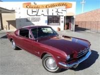 1965 Ford Mustang Fastback - 289 A code, automatic,