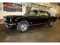 1965 Ford Mustang 289 V8 - Super nice car inside and