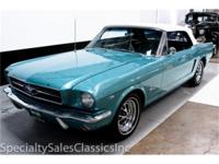 This 1965 Ford Mustang Convertible (Stock # 30672) is